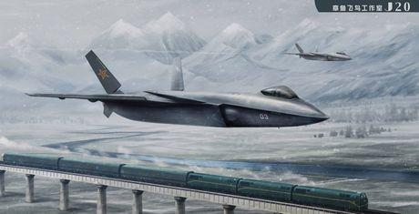 Phi cong My: J-20 la vu khi dang gom nhat cua Khong quan TQ - Anh 1