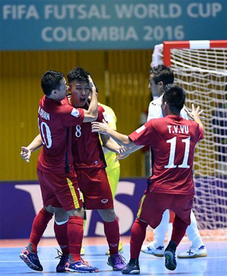 Ban thang cua Minh Tri dep thu hai giai World Cup Futsal 2016 - Anh 1