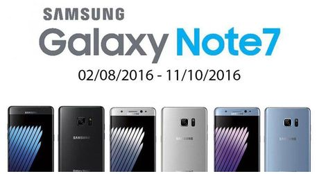Chinh thuc: Samsung Viet Nam hoan 100% tien mua Galaxy Note7 - Anh 1