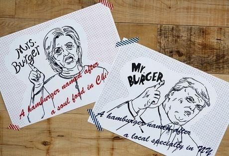 Quan ban banh mi kep ''vi'' Donald Trump va Hilary Clinton - Anh 10
