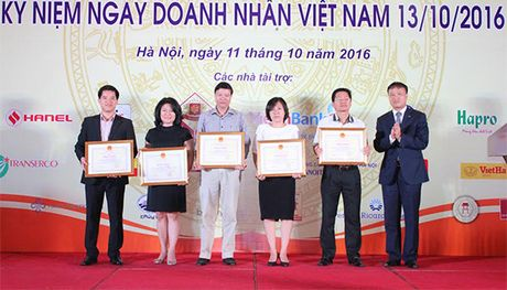 Ha Noi vinh danh cac doanh nghiep, doanh nhan - Anh 4