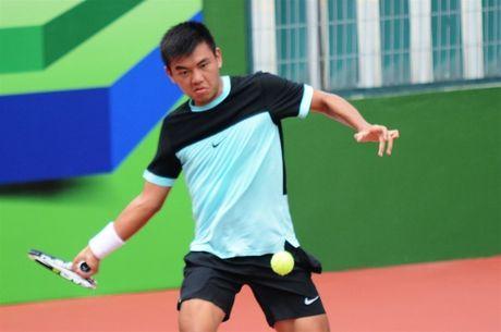 Thang tay vot goc Viet, Ly Hoang Nam vao vong 2 giai Vietnam Open - Anh 1
