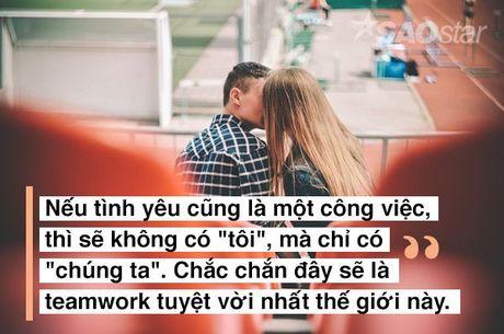Neu tinh yeu la mot cong viec, ban co chac minh la nhan vien tot? - Anh 1