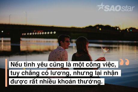 Neu tinh yeu la mot cong viec, ban co chac minh la nhan vien tot? - Anh 2