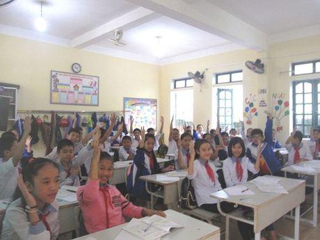 Ha Tinh: Truong THCS thu 4 'tam biet' VNEN - Anh 2