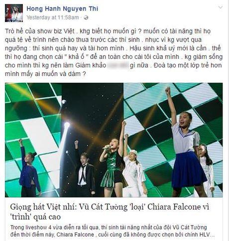 Loai thi sinh xuat sac, Vu Cat Tuong bi dan chi 'len an' bang loi le nang ne - Anh 4