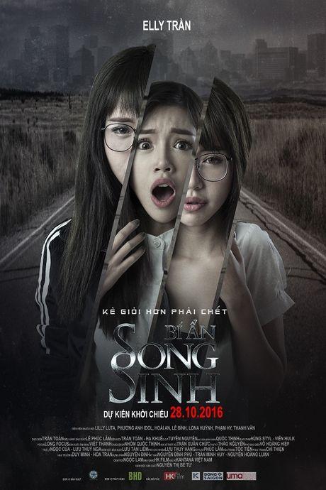 Midu lanh lung, Elly Tran hoang hot tren poster 'Bi An Song Sinh' - Anh 2