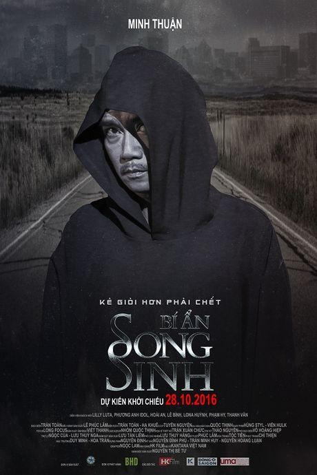 Midu lanh lung, Elly Tran hoang hot tren poster 'Bi An Song Sinh' - Anh 4