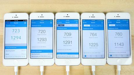 'Dai chien' 5 doi iOS: moi chua chac da nhanh! - Anh 9