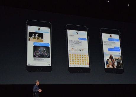 iMessage troi chat nguoi dung Apple - Anh 1