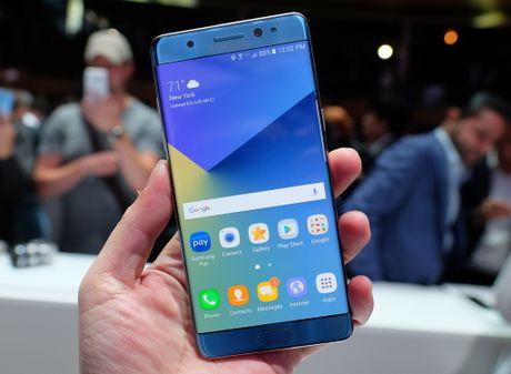 Samsung khai tu Galaxy Note 7 - Anh 1