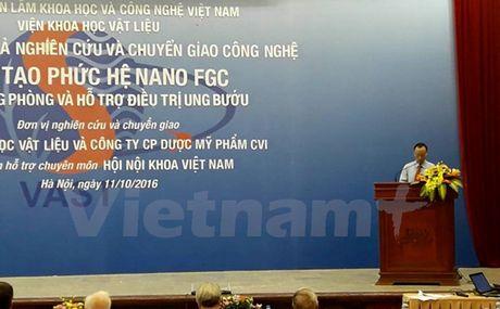 Viet Nam che tao thanh cong phuc he Nano FGC dieu tri ung thu; Trung Quoc tao ra loai to sieu ben dan duoc ca dien - Anh 1