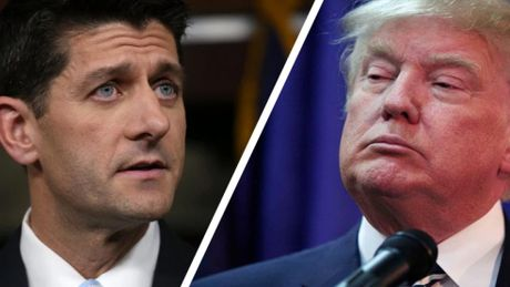 Chien dich tranh cu cua Trump tren bo vuc tham - Anh 1