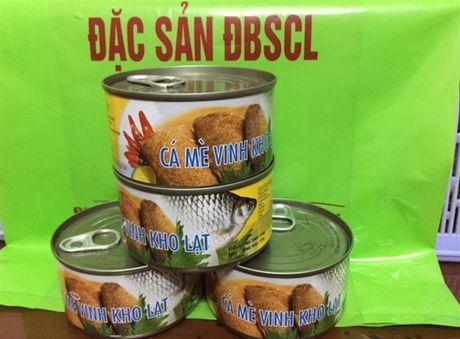An Giang: Dac san ca linh, ca me vinh dong hop het hang - Anh 1