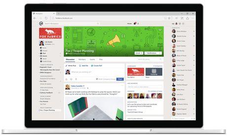 Facebook chinh thuc trinh lang Workplace, mang xa hoi cho cong so - Anh 3