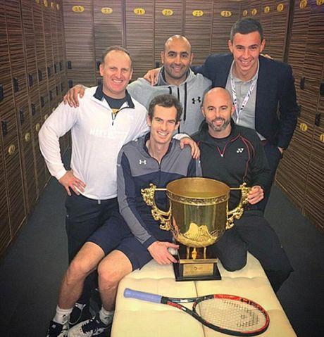 Andy Murray noi gian vi bi chup trom 'ghi chep chien thuat' tai Trung Quoc - Anh 1