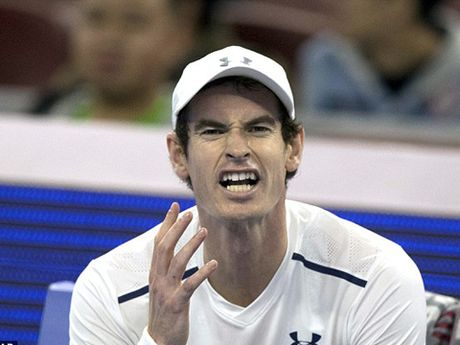 Andy Murray noi gian vi bi chup trom 'ghi chep chien thuat' tai Trung Quoc - Anh 3