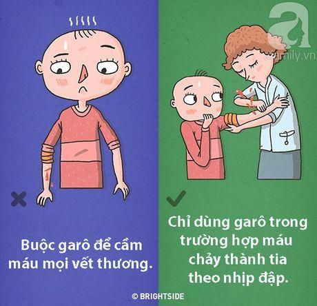Trong 9 tinh huong nay, neu so cuu sai cach co the de doa den chinh tinh mang cua ban - Anh 5
