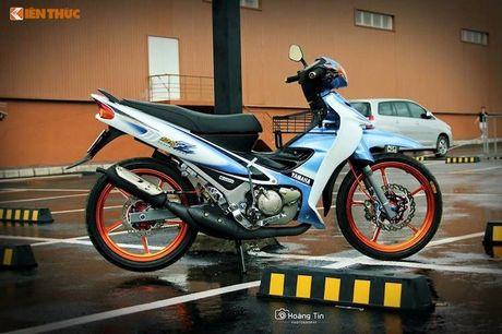 'Xe no' 2 ky Yamaha Z125 do 200 trieu tai Sai Gon - Anh 1