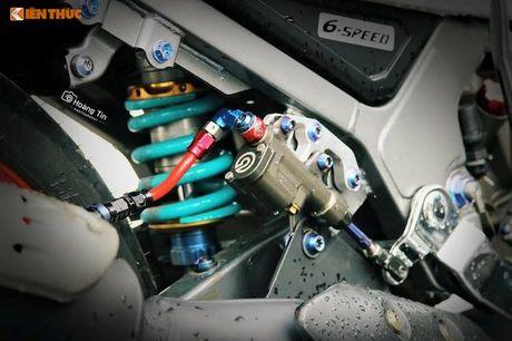 'Xe no' 2 ky Yamaha Z125 do 200 trieu tai Sai Gon - Anh 5
