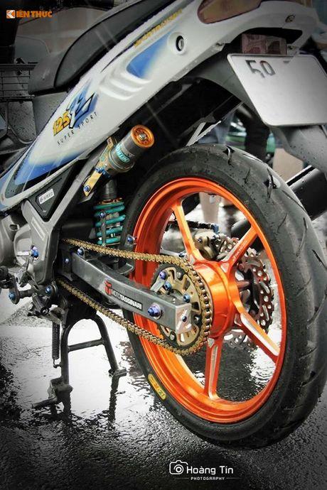 'Xe no' 2 ky Yamaha Z125 do 200 trieu tai Sai Gon - Anh 6