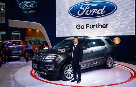 Ford tu tin buoc vao quy kinh doanh cuoi nam voi SUV Explorer moi - Anh 1