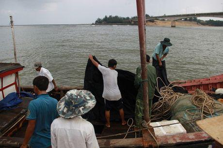 Tau cho 44 nguoi chim o Quang Tri khong duoc phep cho khach - Anh 1