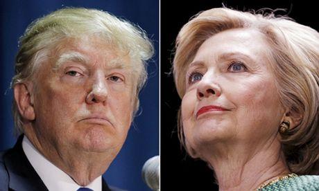 Quan cafe ban banh burger Trump va Clinton - Anh 2