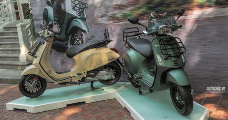 Piaggio Viet Nam gioi thieu Vespa Sprint Adventure, gia 80 trieu dong - Anh 1