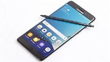 Galaxy Note 7 dang boc khoi trong nhu the nay - Anh 1