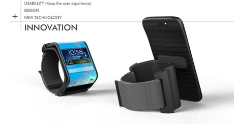 Smartphone tuong lai co the be cong thanh smartwatch? - Anh 2