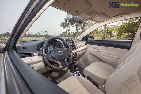 Danh gia Toyota Vios 2016 moi: gai dung cho ngua! - Anh 13