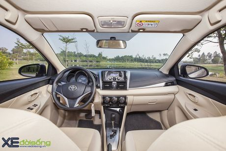 Danh gia Toyota Vios 2016 moi: gai dung cho ngua! - Anh 15