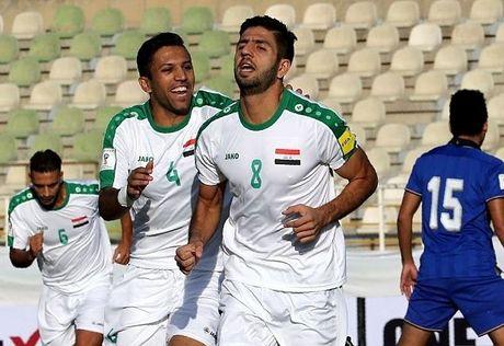 Thai Lan tham bai truoc Iraq tai vong loai World Cup 2018 - Anh 1