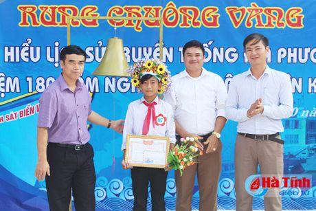 'Rung chuong vang' tim hieu 180 nam thanh lap huyen Ky Anh - Anh 5