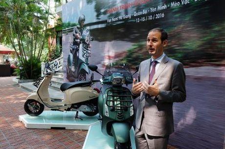 Piaggio ra mat Vespa Sprint Adventure phien ban dac biet gia 80 trieu dong - Anh 1
