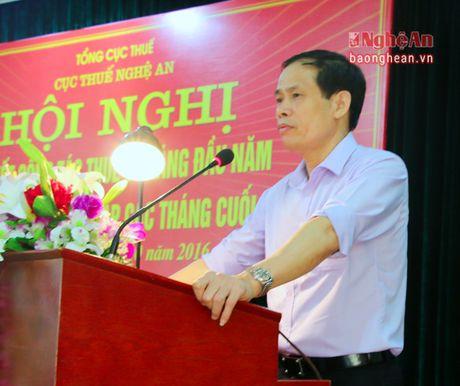 Cuc Thue Nghe An tich cuc chong that thu ngan sach nha nuoc - Anh 2