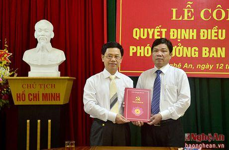 Bi thu Huyen uy Con Cuong nhan nhiem vu Pho Truong ban Dan van Tinh uy - Anh 1