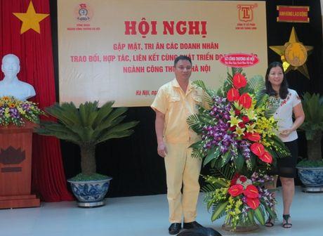 CD nganh Cong thuong Ha Noi: Cac doanh nhan da dong hanh cung CD bang nhieu hoat dong thiet thuc - Anh 2