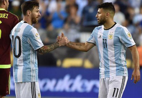Bao Argentina: Aguero len tuyen nho phe canh cua Messi - Anh 1