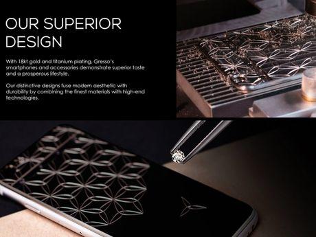 Gresso tung ra mau iPhone 7 dac biet danh cho nu doanh nhan thanh dat, gia chi... 131 trieu dong - Anh 1