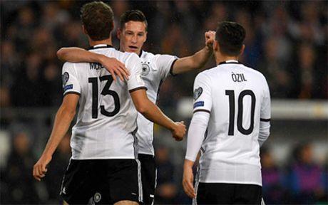 Clip Duc 2-0 Bac Ireland: Cung co ngoi dau - Anh 1
