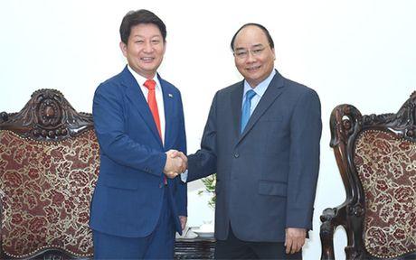 Thu tuong Nguyen Xuan Phuc tiep Thi truong TP Daegu, Han Quoc - Anh 1