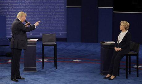 Hillary Clinton- Donald Trump dau khau toi te khien nuoc My chia re - Anh 1