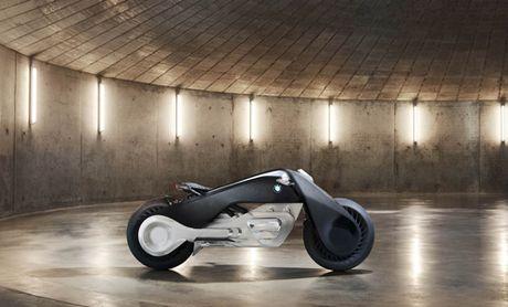 'Choang' voi BMW Motorrad Vision Next 100 tu dieu khien - Anh 2