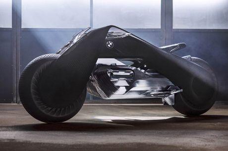 'Choang' voi BMW Motorrad Vision Next 100 tu dieu khien - Anh 5