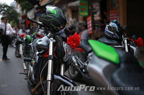Cuc chat voi chu re biker don dau bang xe Suzuki Bandit 1200s - Anh 6