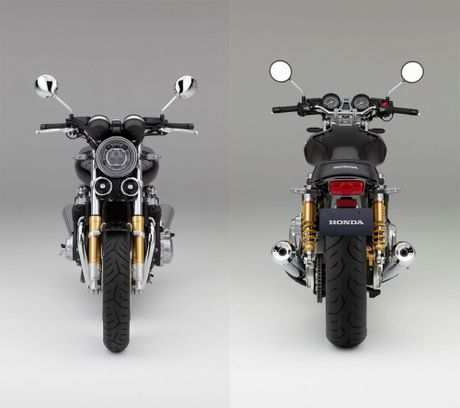 Honda CB1100 RS 2017 - Mo to dam chat co dien moi - Anh 12