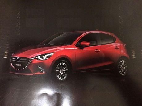 Xe co nho, gia re Mazda2 phien ban 2017 'lo hang' - Anh 1