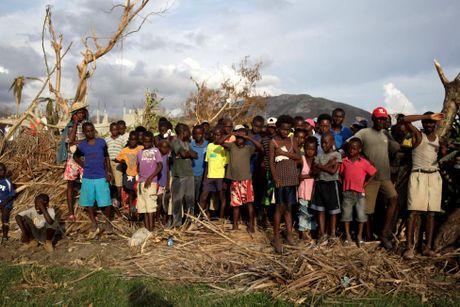 Xot xa canh ngo nguoi dan Haiti sau sieu bao Matthew - Anh 12